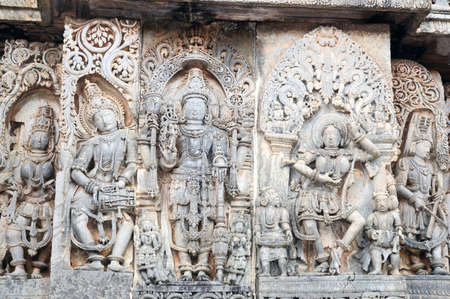 11th century: Beautiful Indian architecture from the 11th century Stock Photo