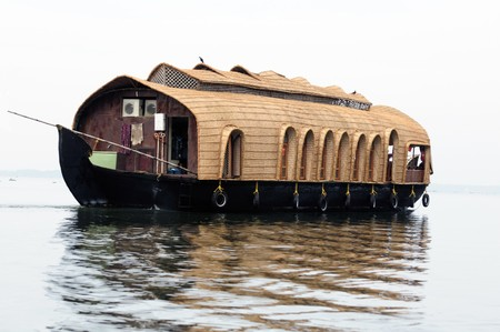 A Luxury Houseboat in backwater of Kerala Stock Photo - 7306228