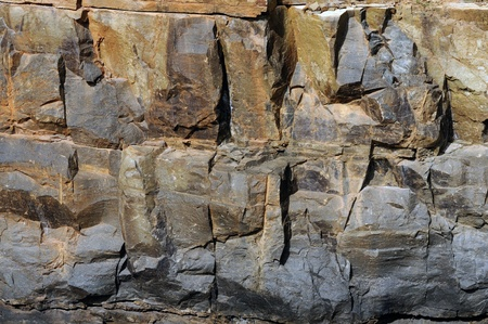 Intricate details in a naturally formed rock texture Stock Photo - 8486165