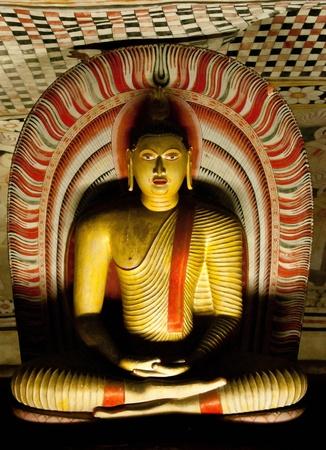 srilanka: Famous Rock and Cave Temple at Dambulla SriLanka