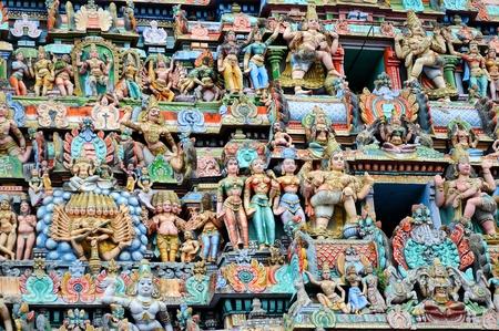 Ancient Shiva temple at Vaitheeswaran kovil in TamilNadu India