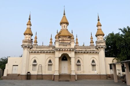 A Spanish mosque in India displaying wonderful architecture photo
