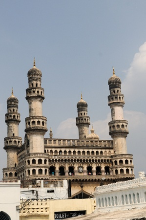 monument in india: 400 year old historic monument in hyderabad, India
