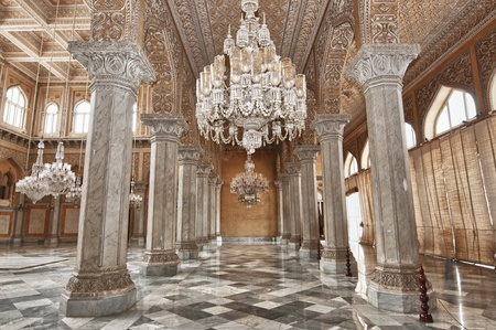 An ancient palace of the Nizams of the Hyderabad India Stock Photo - 11379467
