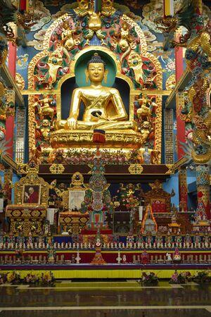 A tibetian monastry in Karnataka India