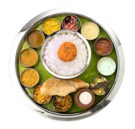 vegs: A tasty indian dish made from rice served with chutney