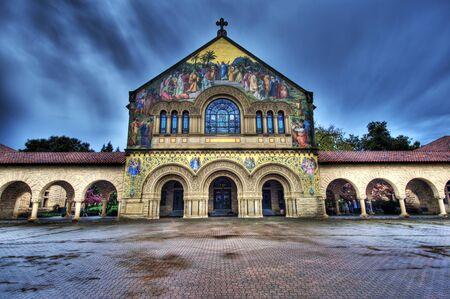 saint joseph: Mission chuch at Stanford University California USA  Editorial