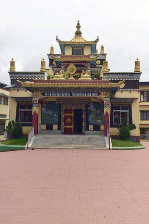 tibetian: A tibetian monastry in Karnataka India