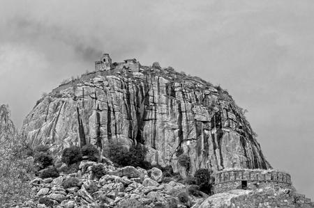 tamilnadu: a majestic fort in Gingee tamilnadu India