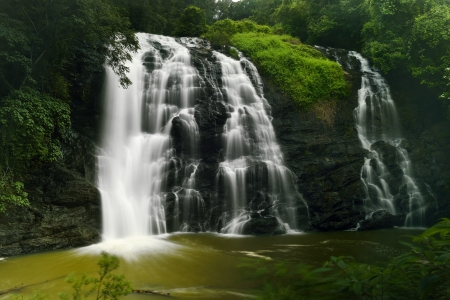 karnataka: Abbey falls in the coorg region of KArnataka India