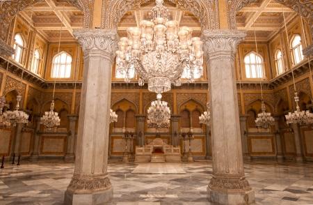 Een oud paleis van de Nizams van Hyderabad India