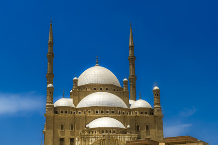 The Mosque of Muhammad Ali Pasha or Alabaster Mosque is a Ottoman mosque situated in the Saladin Citadel of Cairo in Egypt