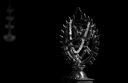 nataraja: Statue of Nataraja or dancing Shiva Stock Photo