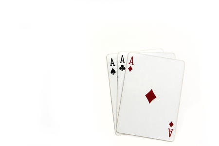 a collection of playing cards background Imagens