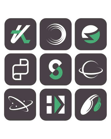 Vector symbols 2. You can check my portfolio to find more images of this series. Stock Vector - 5095962