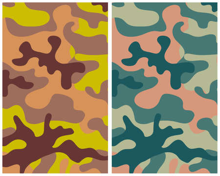 camouflage 3 Stock Vector - 5095970