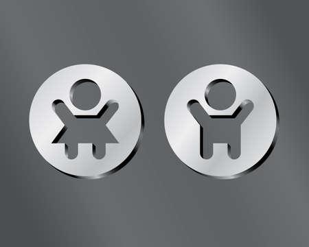 symbol 1 Vector