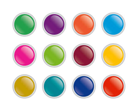 buttons Stock Vector - 5126236