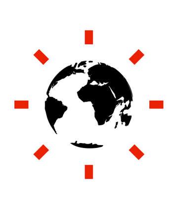 vector globe Stock Vector - 5131229