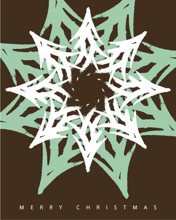 greeting card christmas 1 Vector