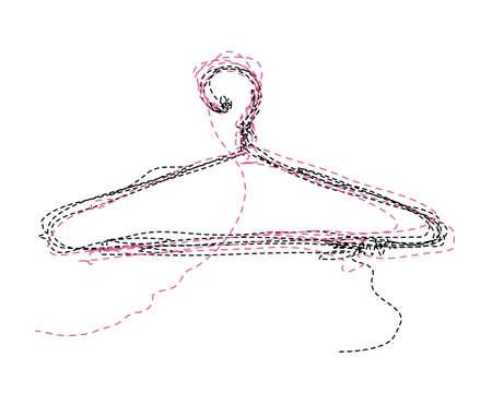 Kleding-hanger