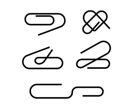 vector paperclip 1 Vector
