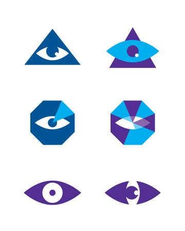 vision nocturna: ojo de vectores
