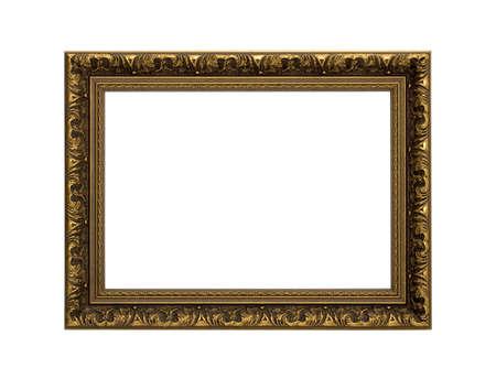 gold frame Фото со стока
