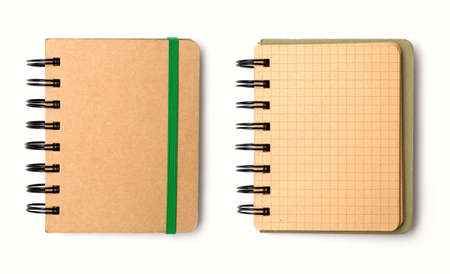 Blank note book photo
