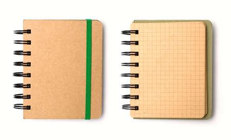 note book: Libro bianco nota  Archivio Fotografico