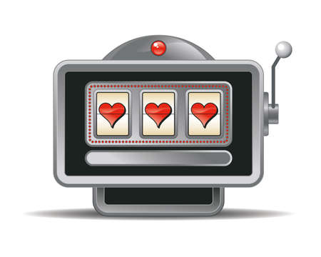 slot: slot-machine Illustration