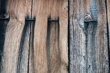 texture of old wooden planks for background photo