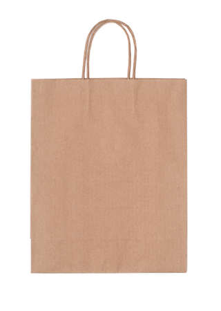 Recyclable paper bag photo