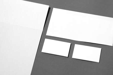 conjunto de moldes da identidade corporativa