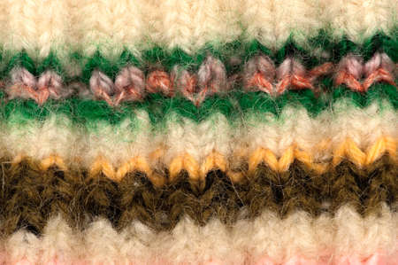 mohair: Striped colorful woolen fabric