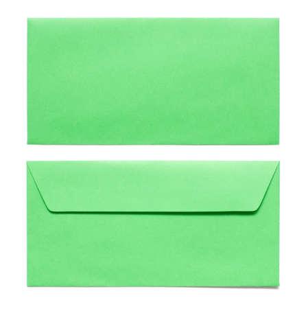sealable: envelopes isolated on white Stock Photo