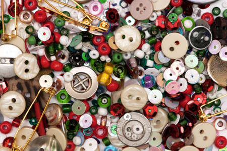 buttons sew: Different buttons background