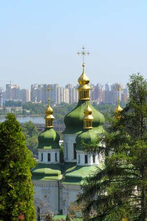 dome type: Vidubichi monastery, Kiev, Ukraine