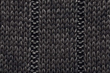 texture of a knitted material from wool for use as background photo