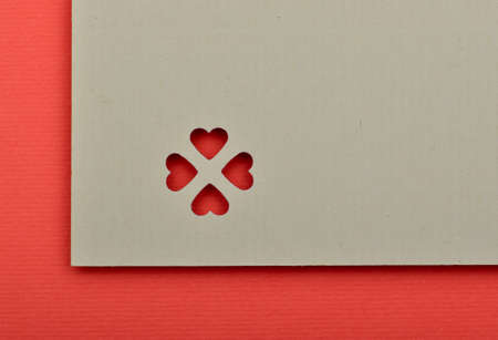 Blank valentine card. write your own text Stock Photo - 17299472