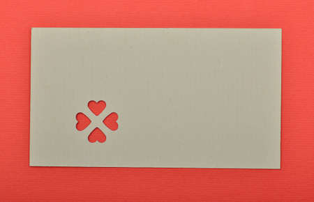 Blank valentine card. write your own text Stock Photo - 17299468