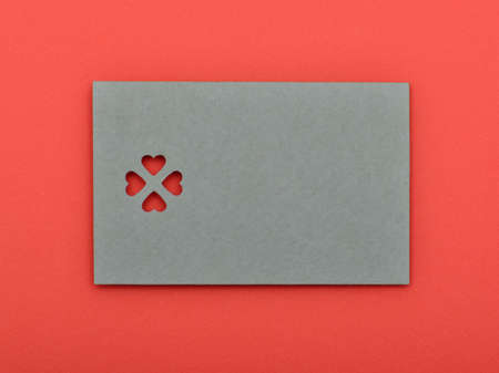 Blank valentine card. write your own text Stock Photo - 17299474