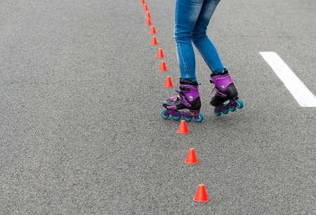 In-line skating photo