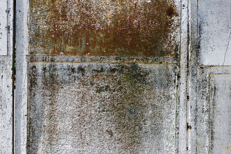 Blank rusty metal wall Stock Photo - 22167291