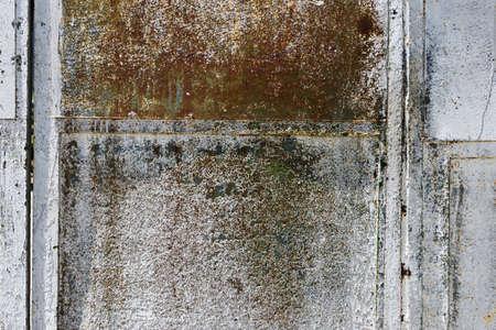 Blank rusty metal wall Stock Photo - 22167291