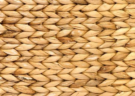 天然籐バック グラウンド テクスチャ織り