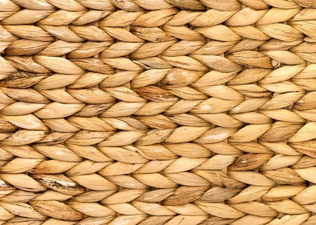 Natuurlijke rotan weven patroon achtergrond Stockfoto