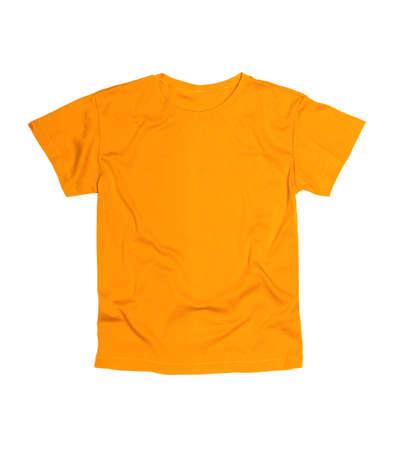 흰 배경에 고립 된 티셔츠