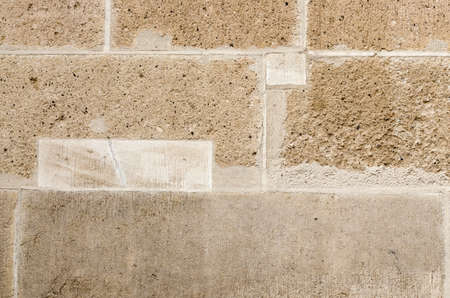 building feature: Ancient wall built of white stone