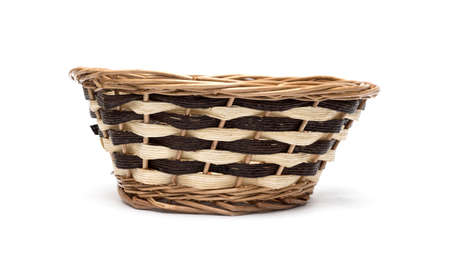 spliced: Basket on white background